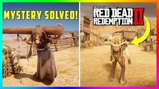 Solving The Mystery Of The Donkey Lady & Setting Her Free In Red Dead Redemption 2! (RDR2)
