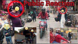 PUBLIC REACTION ON REVOLT RV 400 || QUESTIONS Video