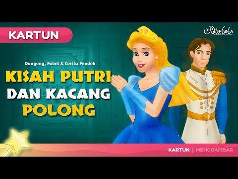Kisah Putri Dan Kacang Polong - Kartun Anak - Dongeng Bahasa Indonesia