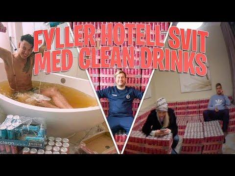 7500 BURKAR I ETT HOTELLRUM (Bygger mbler av Clean Drinks)