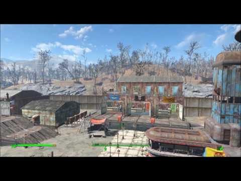 Fallout 4 Builds - NCR Takeover of the Commonwealth - (Camp Starlight) - (KNX774)