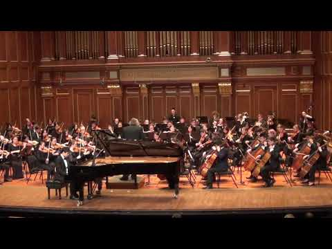 NEC Youth Symphony Performance May 8, 2019 Piano Concerto No.1 Tchaikovsky, First Movement