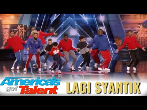 LAGI SYANTIK MENDUNIA!!! AMERICA'S GOT TALENT 2018