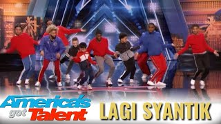lagi syantik mendunia america s got talent 2018