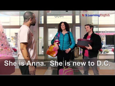 Tiếng Anh cơ bản bài 2: Xin chào, tôi là Anna! (VOA)