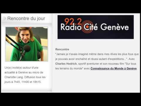 31.01.17 - Radio Cité Genève - Rencontre Genevoise