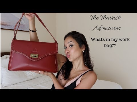 WHAT'S IN MY BAG: EMIRATES CABIN CREW EDITION