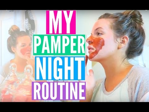 MY PAMPER NIGHTTIME ROUTINE | Casey Holmes
