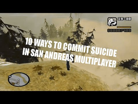 10 WAYS TO COMMIT SUICIDE