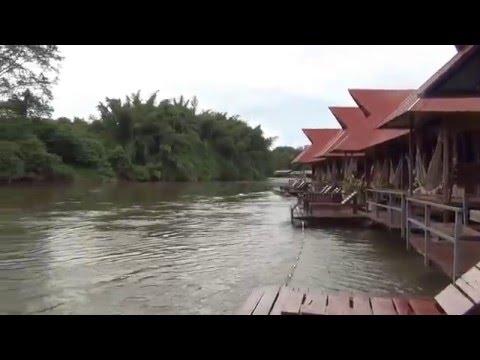 สำรวจห้องพักบนแพริมน้ำ วังนกแก้ว กาญจนบุรี Raft Riverside Wangnokkaew Park View EP.5/12