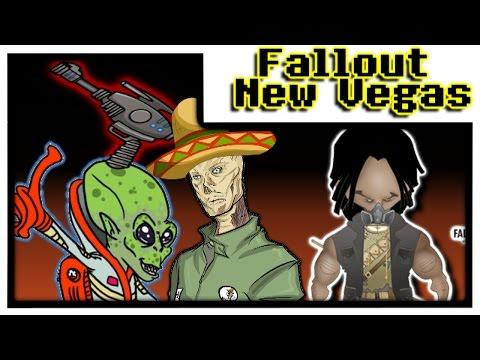 ALIENS, UN ZOMBIE MEXICANO Y RETO MAXIMO    Fallout: New Vegas (modo difícil) [#6]