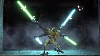 LEGO Star Wars III: The Clone Wars. #17. Lair of Grievous (Свободная игра, 100%)