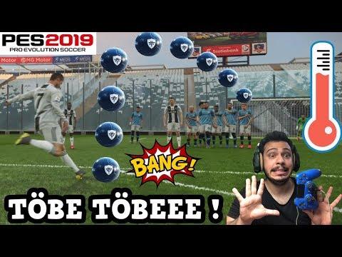 PES 2019 RONALDO İLE FRİKİK ANTRENMANI