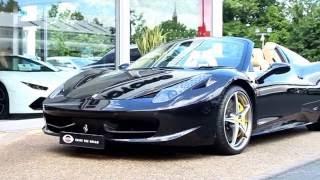 Ferrari 458 Spider 2012 Videos