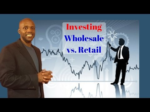How to Invest Wholesale vs Retail - It all begins with Income Shifting and myEcon