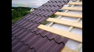 видео Устройство мансардной крыши частного дома
