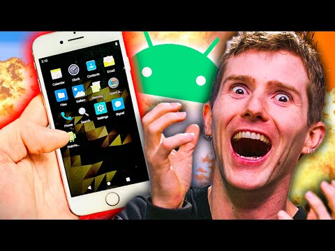 Android on IPHONE!?
