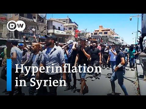 Wirtschaftskrise in Syrien löst Proteste gegen Assad aus | DW Nachrichten