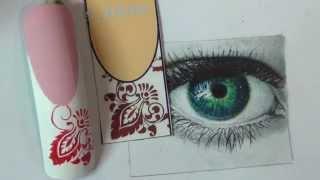 КРАСИВЫЕ вензеля!!/вензеля на ногтях/ДИЗАЙН ногтей/Роспись на ногтях/ВЕНЗЕЛЯ/Nail art painting