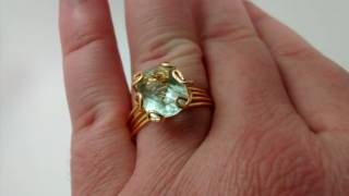 Gemstone from Heaven ring