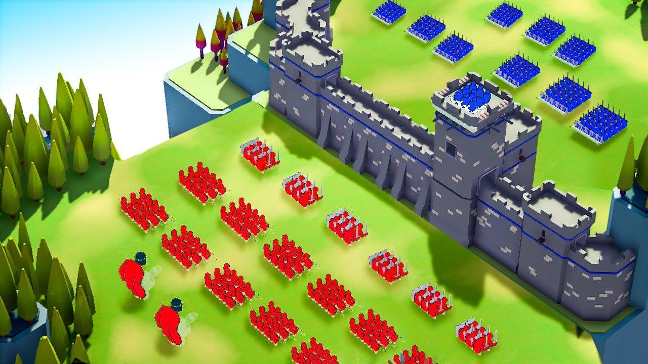 Amazing NEW Castle Siege Battle Simulator - Extremely Realistic Siege Warfare Simulator