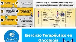 ????EJERCICIO TERAPÉUTICO en Oncología .