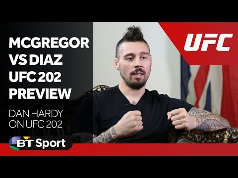 Dan Hardy - Conor McGregor vs Nate Diaz UFC 202 Preview New Flash Game
