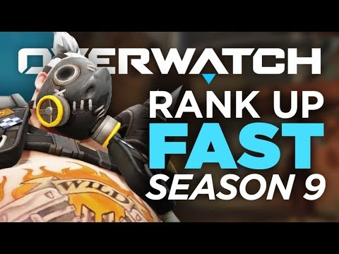 How to Rank Up FAST in Season 9! - Overwatch