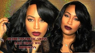 OUTRE Synthetic Swiss Lace Front Wig Brooklyn  | Blackhairspray.com