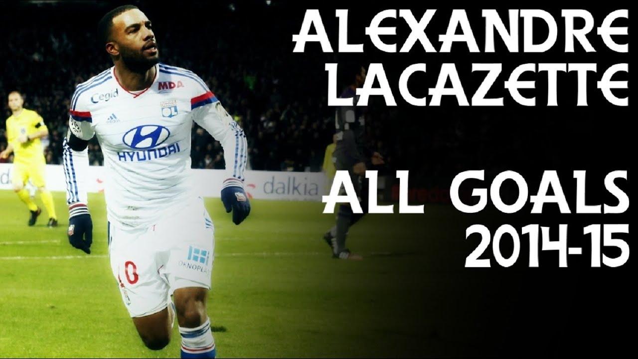 Alexandre Lacazette All 32 Goals 2014 15 Hd Youtube