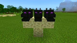 New Boss Mob in Minecraft Pocket Edition (Hydra Dragon Addon)