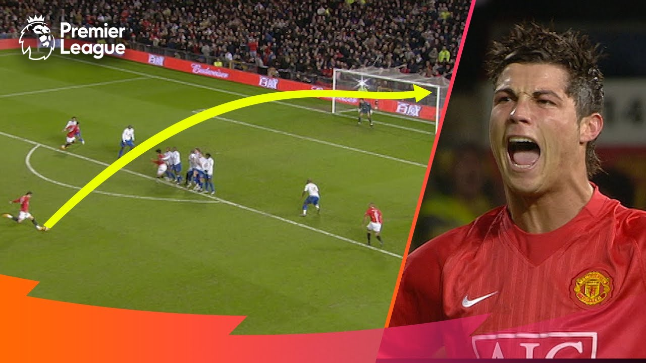 INCREDIBLE FREE-KICKS | Premier League | Ronaldo, Suarez, Lampard