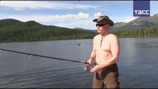 Президентская рыбалка  как Владимир Путин отдохнул в Сибири