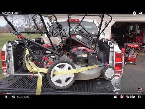Bent Crankshaft On Lawnmower Lets Fix It