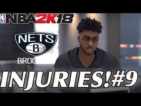 NBA 2K18 MyGM EP 9 | Brooklyn Nets |SO MANY INJURIES!!