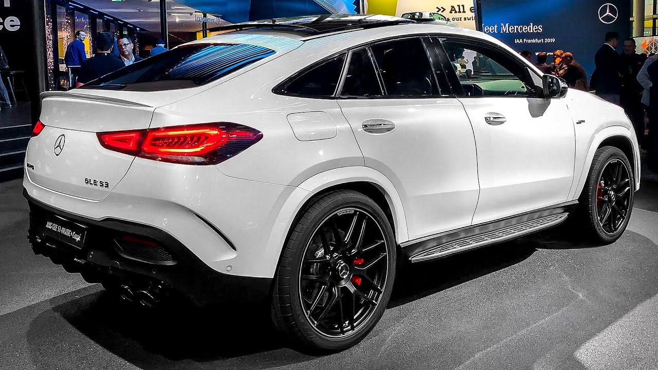 Mercedes Gle Coupe >> Mercedes Amg Gle 53 Coupe 2020 Walkaround