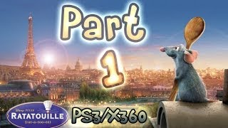 Ratatouille Walkthrough Part 1 : The Movie - Game (PS3, Xbox 360)
