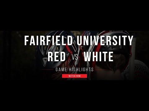 2017 Fairfield University Red vs White Scrimmage   2017 Fall Lacrosse