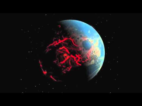 Ancient Earth: Pummeled, Cracked and Oozing Magma | Scientific Visualization