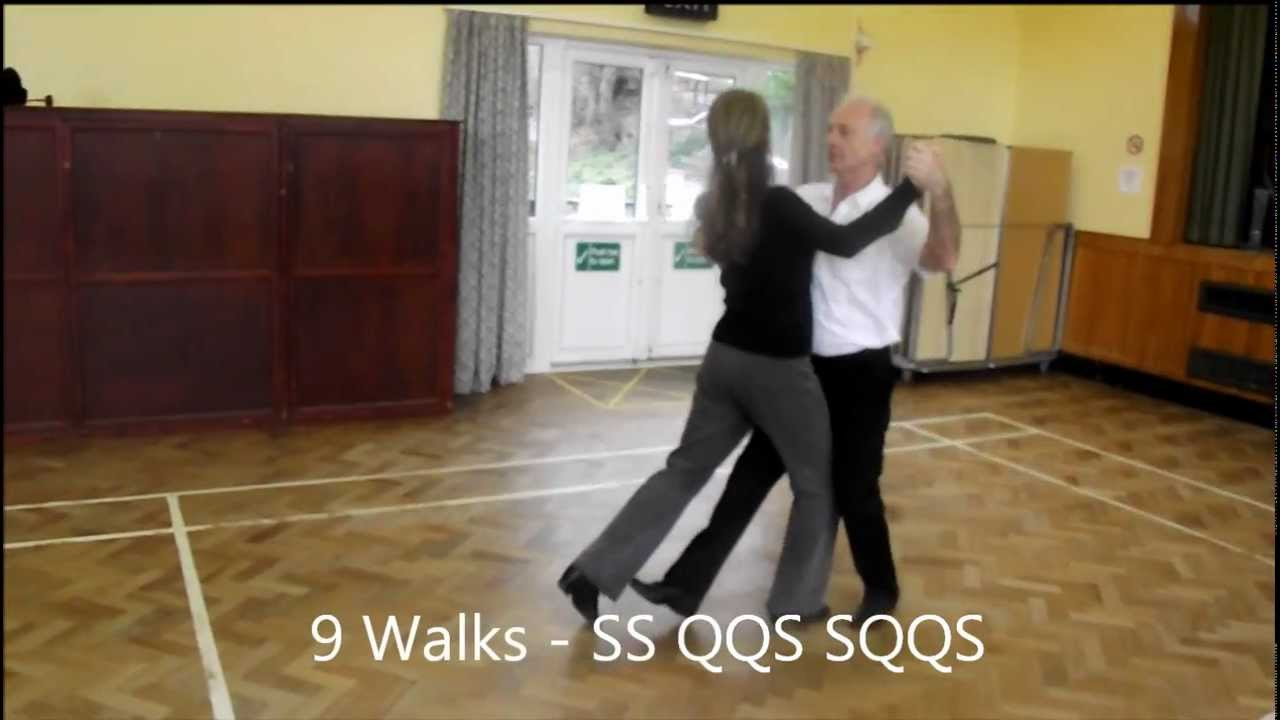 Square Tango Sequence Dance Walkthrough Youtube Steps Diagram