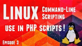 Online Course - Linux CLI Scripting - Episode3 - use in PHP Scripts Mp3