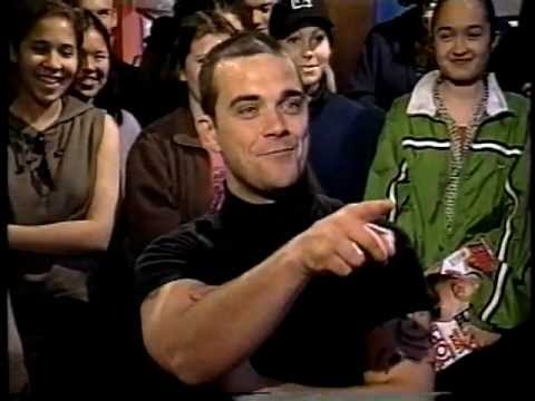 Robbie Williams Being ed on Much Music