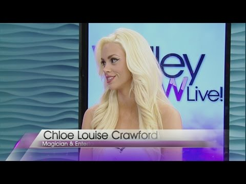 Chloe Crawford guest hosts Valley View Live!