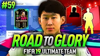 FIFA 19 ROAD TO GLORY #59 - MY BEST RED PLAYER PICK!!