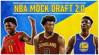 2020 NBA Mock Draft 2.0 [WARRIORS NIGHTMARE SCENARIO]