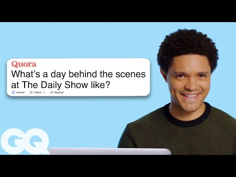 Trevor Noah Goes Undercover on Instagram, Twitter and Wikipedia   GQ