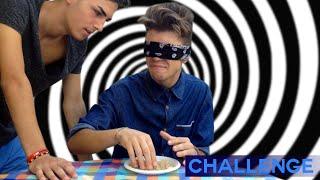 BLINDFOLD CHALLENGE - CHE SCHIFOO!!