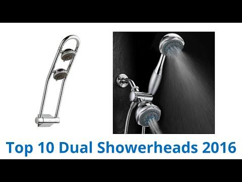 10 Best Dual Showerheads 2016