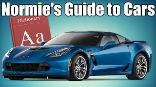 Non-Car Guy's Dictionary To Cars!