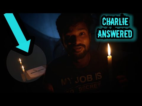 Charlie Charlie Ghost Game   3am Scary Challenge  